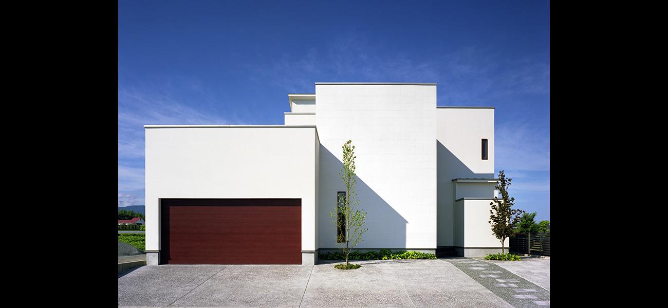 ガレージハウスの小川町の家